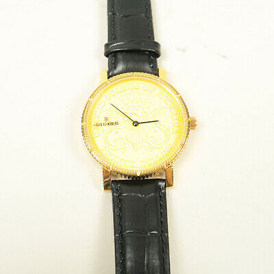 $373.92 • Buy Louis Eliasberg 1904 Gold Liberty Swiss Coin Watch Collectible