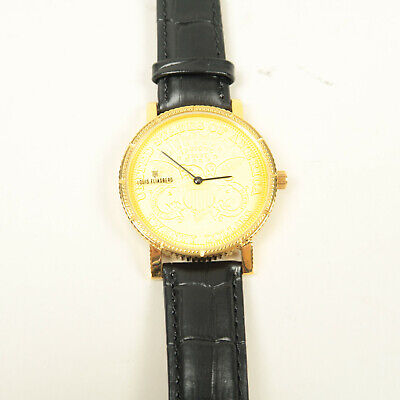 $439.90 • Buy Louis Eliasberg 1904 Gold Liberty Swiss Coin Watch Collectible