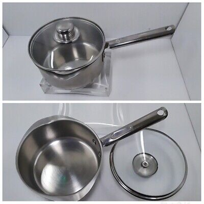 $ CDN45.33 • Buy WEAR-EVER 2 Quart Stainless Steel Sauce Pans Dual Pour With Lid. Nice