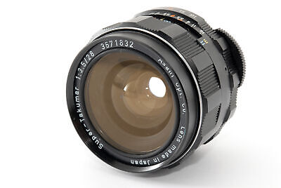 AU209.90 • Buy [NEAR MINT] Asahi Pentax Super-Takumar 28mm F/3.5 M42(2867)