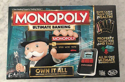 $25.98 • Buy Hasbro Monopoly Ultimate Banking Board Game - B6677 Complete