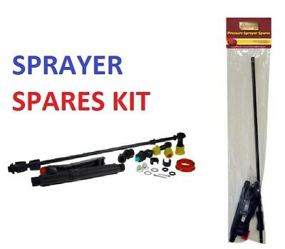 £8.99 • Buy 16PC Kingfisher Garden Sprayer Spares Kit Replacement Backpack Lance & Parts Set