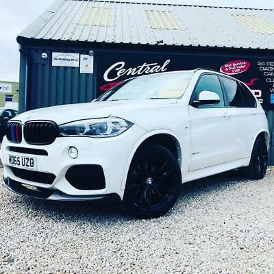 2015 BMW X5 3.0 XDRIVE40D M SPORT 8S AUTO 7 SEATS LOW MILEAGE FINANCE PX Estate  • 27,995£