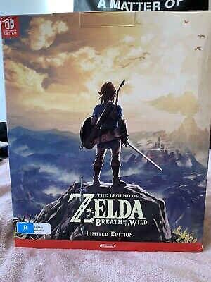 AU1.25 • Buy The Legend Of Zelda: Breath Of The Wild Limited Edition NO GAME