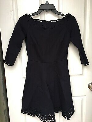 AU20 • Buy Forever New Size 6 Navy Dress