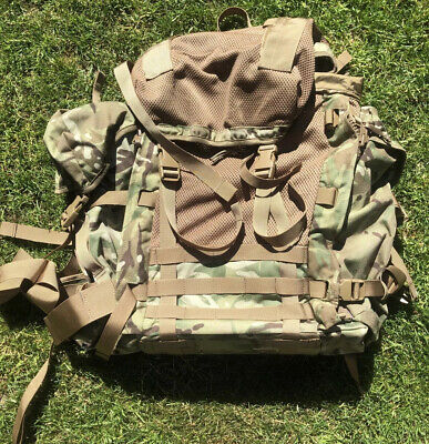 New Karrimor SF Lightweight British Army MTP ECM Bergen With Side Pouches • 70£