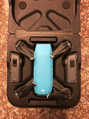 AU590 • Buy DJI Spark Fly More Combo - Blue USED EXCELLENT CONDITION