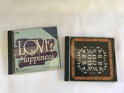 Love & Happiness And Roberta Flack & Donny Hathaway Lot Of 2 R&B CD's • 14.27£