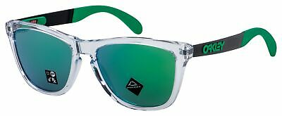 $84.99 • Buy Oakley Frogskins Mix Sunglasses OO9428-0455 Polished Clear | Prizm Jade Lens