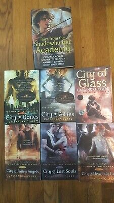 The Mortal Instruments Series 1-6 By Cassandra Clare Plus Companion Book • 33.28£