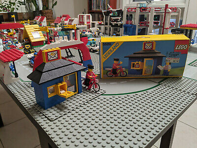 AU20 • Buy Lego Post Office 6689 - Complete Set With Box And Instructions.