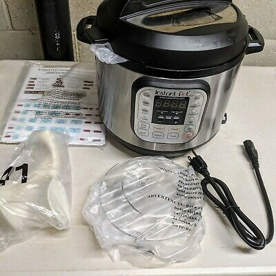 $64.99 • Buy Instant Pot IP-DUO60 V2 6 Quart 7-in-1 Programmable Electronic Pressure Cooker