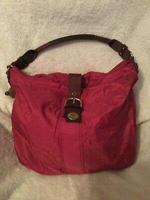 Pre-owned Kipling City Lilli - Large Burgundy Coloured A4 Shoulder Bag - VGC • 27.50£