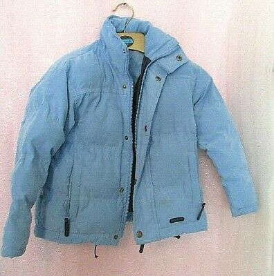 Cuddly Ponies Blue Chunky Winter Puffa Coat Age  3-4 4-5 Years ? • 9£