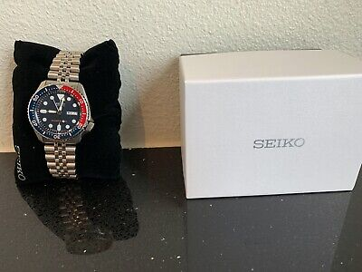 $ CDN359.36 • Buy Seiko Men's SKX175 Stainless Steel Automatic Divers Watch Pepsi Jubilee Band