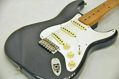 $1300.99 • Buy Fender Mexico Road Worn 50s Stratocaster Black Used Alder Body W/Soft Case