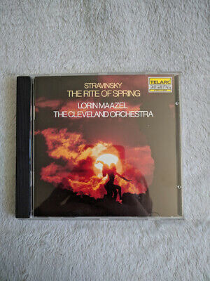 STRAVINSKY The Rite Of Spring  Maazel - The Cleveland Orchestra • 10£