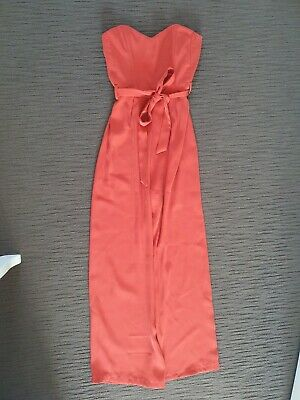 AU15 • Buy Avery The Label Size 8 Red Strapless Jumpsuit (bought From Dissh)