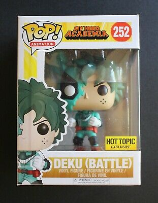 $16.80 • Buy Deku (Battle) #252 Funko Pop! My Hero Academia Hot Topic Exclusive