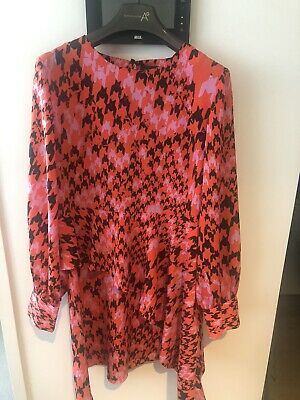 AU0.99 • Buy Red Topshop Dress Size 14 Would Fit 12 Worn Once