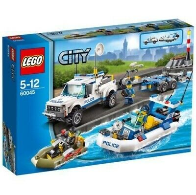 AU45 • Buy Preowned LEGO City*60045 Police Patrol*Complete Set*3 Out Of 4 Manuals Included*