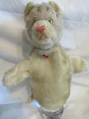 $13.99 • Buy Puppet Mid Century Cat Stuffed Mr. Roger's Time Period Possibly Marked Teddy