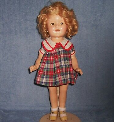 $41 • Buy Vintage Antique Ideal Composition Doll~16  SHIRLEY TEMPLE~Original~NRA Tag Dress