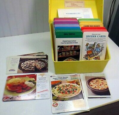 $9.99 • Buy VTG 1975 Betty Crocker Yellow Boxed Set Step By Step Recipe Card Library & BONUS