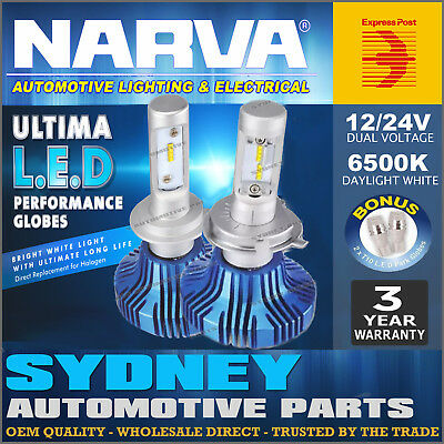 AU143.95 • Buy Narva H8/H9/H11 LED Headlight Performance Globes HIGH LOW Replace Xenon 18411