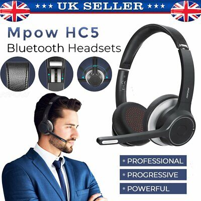 Mpow HC5 Bluetooth Wireless/Wired Stereo Headphones Headset Over Ear For IPhone • 34.59£