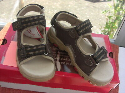 SUPER-FIT Sandal  In MOCCA Hook And Loop Fitting UK 2.5  EU 35 PRICE £20.00 • 20£
