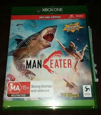 AU57.99 • Buy Maneater Day One Edition With Tiger Skin DLC Xbox One