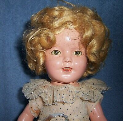 $10 • Buy Antique Vintage Ideal Composition Doll~Tagged Dress~All Original~SHIRLEY TEMPLE