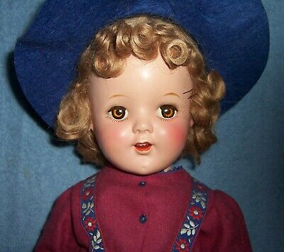 $12.50 • Buy PRETTY!~Antique Vintage 20  Composition Doll~Ice Skater~Marked: 20*~Dimpled Chin