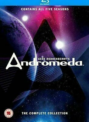 Gene Roddenberry's Andromeda - The Complete Collection [Blu-ray] New & Sealed! • 69.90£