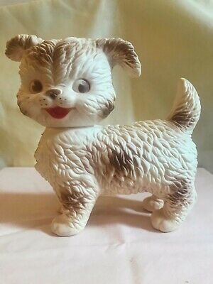 $18.50 • Buy Vintage Edward Mobley 1950's Rubber Doll Squeaky Dog