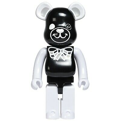 $1100 • Buy Medicom BE@RBRICK X Fragment Design Black Freemasonry 1000% Bearbrick Figure
