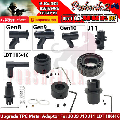 AU22.95 • Buy Upgrade T-piece TPC Metal Adaptor Gel Blaster Gen 8 9 10 J11 HK416 Outer Barrel