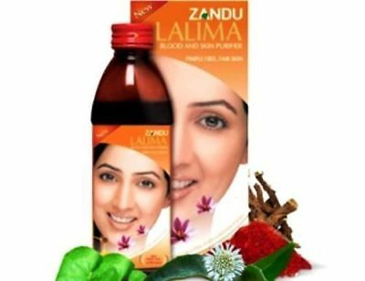 $10.79 • Buy Zandu Lalima Blood & Skin Purifier Prevents Pimple And Gives Clean And Soft Skin
