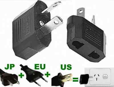 AU19.77 • Buy 4 X Japan Jap USA US EU To Au Australia Travel Power Plug Socket Travel Adapter