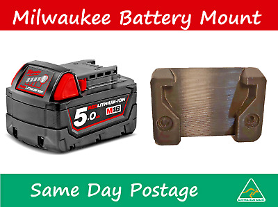 AU5.99 • Buy Milwaukee Battery Mount - M18 Tool Holder Bracket 18v