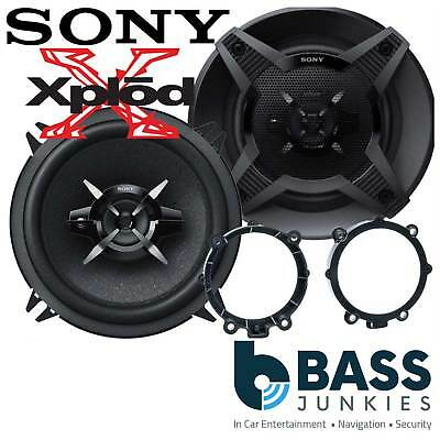 VW Volkswagen Crafter Van 2015 13cm 460 Watts 2 Way SONY Front Door Van Speakers • 33.95£