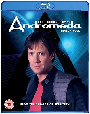 Andromeda - Series 4 - Complete (Blu-Ray, 2016, 5-Disc Set) FREE SHIPPING • 14.99£