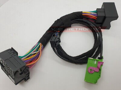 £59.99 • Buy Audi A3 Tt R8 Ami Audi Music Interface Plug And Play Cable Wiring For Rns-e Nav