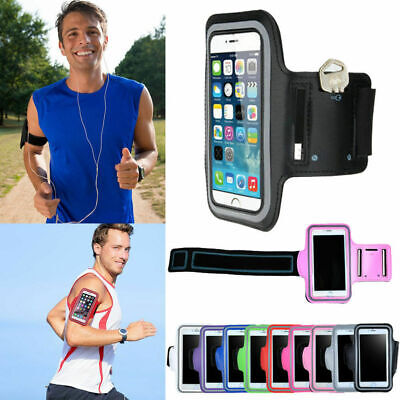 Sports Gym Running Jogging Armband Arm Band Bag Holder Case Cover For Cell Phone • 2.26£