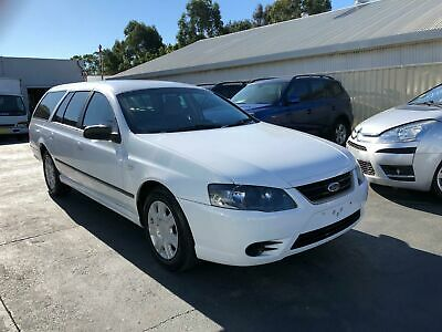 AU5975 • Buy 2010 Ford Falcon BF Mk III XT Wagon 4dr Spts Auto 4sp 4.0i White Automatic A