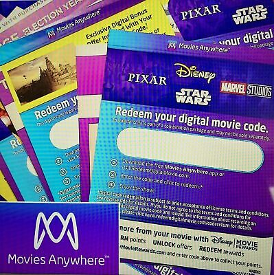 $7 • Buy Digital Hd + 4k Codes Movie Codes 75+ New Releases 40+ New 4k Codes Added Wow!