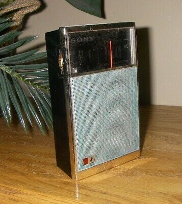 $16.31 • Buy Vintage Transistor Radio Sony 8 Not Tested