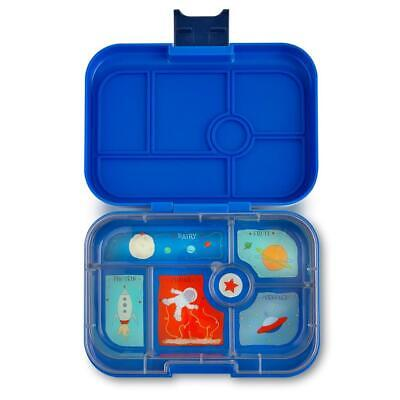 AU39.95 • Buy NEW Yumbox Original Lunch Box -  Bento Box - 6 Compartments - Neptune Blue