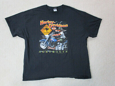 $ CDN79.69 • Buy VINTAGE Harley Davidson Shirt Adult 3XL XXXL Black Motorcycle Australia Mens 90s
